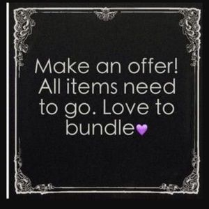 Other - MAKE AN OFFER...BUNDLE & SAVE even more 💁🏼♀️